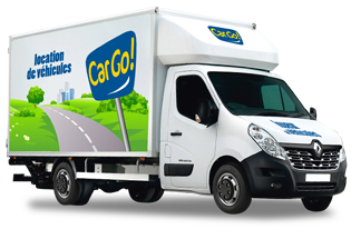 Car rental agency - CARGO DRIVE FRETIN - 20 to 23 m<sup>3</sup>