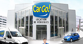 Car rental agency - CARGO DRIVE FRETIN - visuel