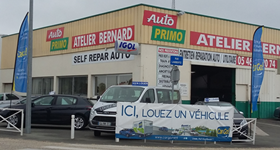 Car rental agency - GARAGE ATELIER BERNARD - 1342